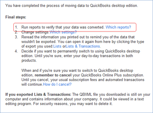 Hand Receipt Pdf How To Convert From Quickbooks Online To Quickbooks Desktop  Canada Invoice Template with Breakfast Receipt Word I Always Run Pl And Balance Sheet And Set Date To All To Verify Data Expedia Receipt Word