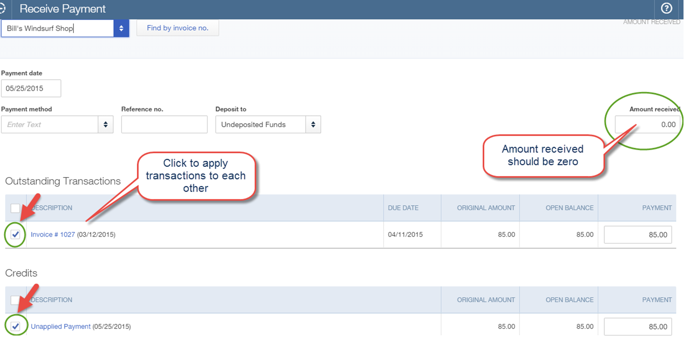 how to write off unpaid invoices in quickbooks