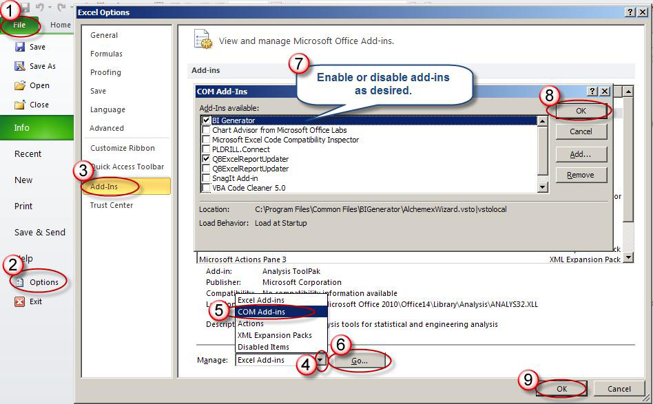 excel 2013 add ins ribbon missing tip 919 search tools