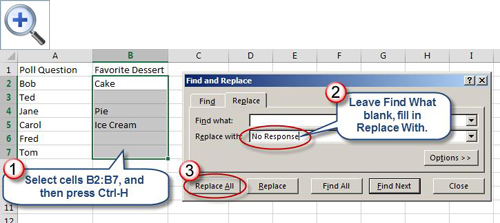 how to make the words fill the space on excel