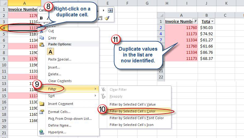 how to find duplicates in excel  Identifying Duplicate Values in an Excel List | AccountingWEB