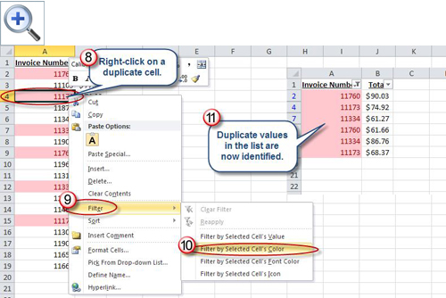 Identifying Duplicate Values in an Excel List | AccountingWEB