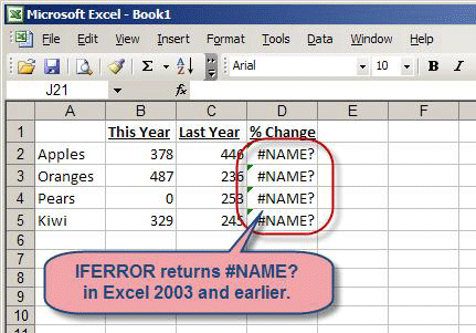 trapping errors within excel formulas accountingweb