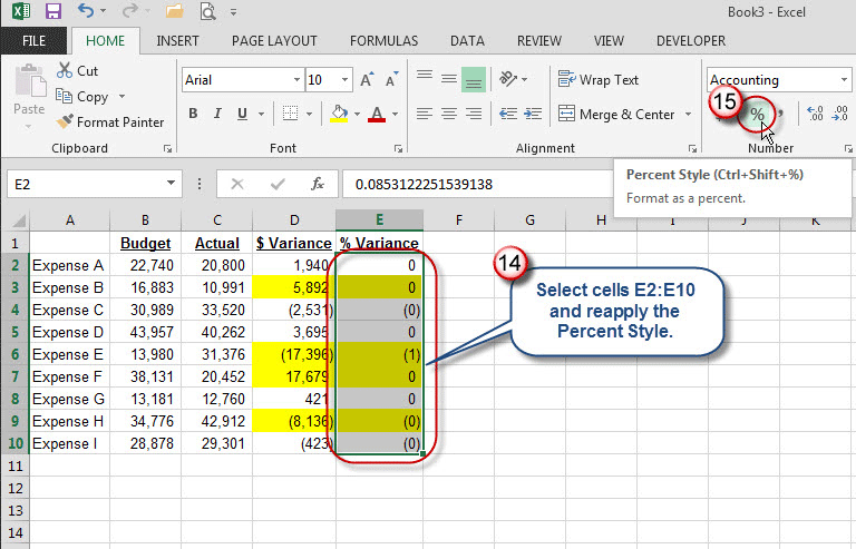 Ms Excel Cell Color Function