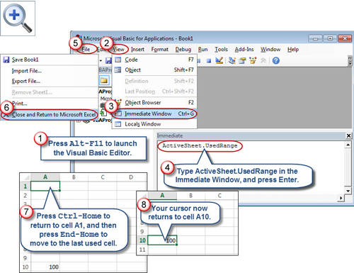 Resetting the Last Cell in an Excel Worksheet – Excel Worksheet