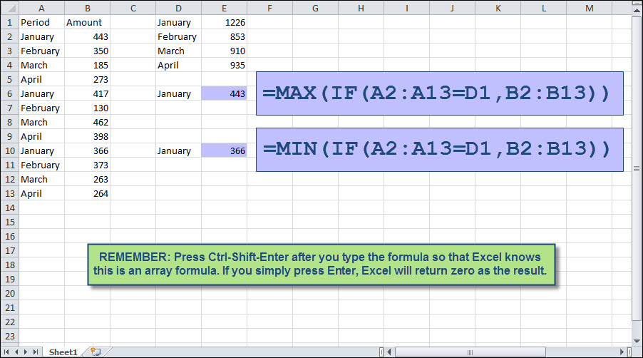 how to use if statement in excel