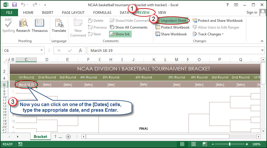 Excel the indispensable ncaa bracket tool accountingweb the second worksheet within the template provides a tracker from which you can manage up to five sets of picks if this isnt enough for your needs maxwellsz