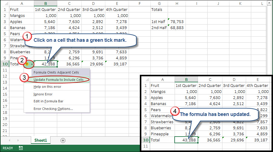 how to use summation formulas in microsoft excel autos post