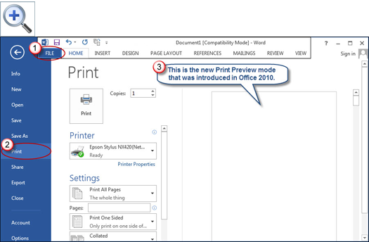 Restoring Shrink One Page In Word 2010 And 2013