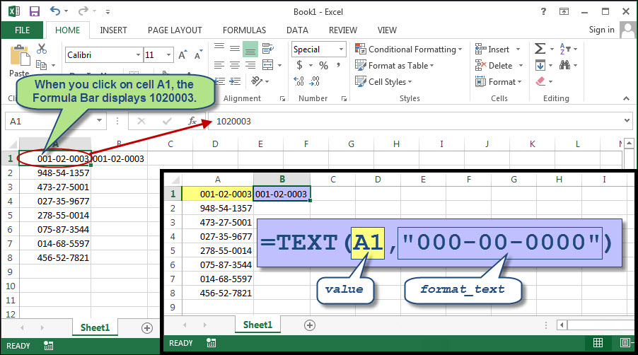 Put A Letter In Front Of A Number Excel