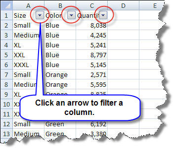 Image result for excel filters