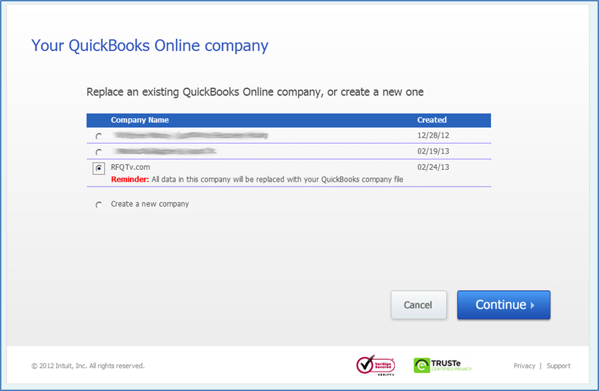 how to go from quickbooks desktop to online