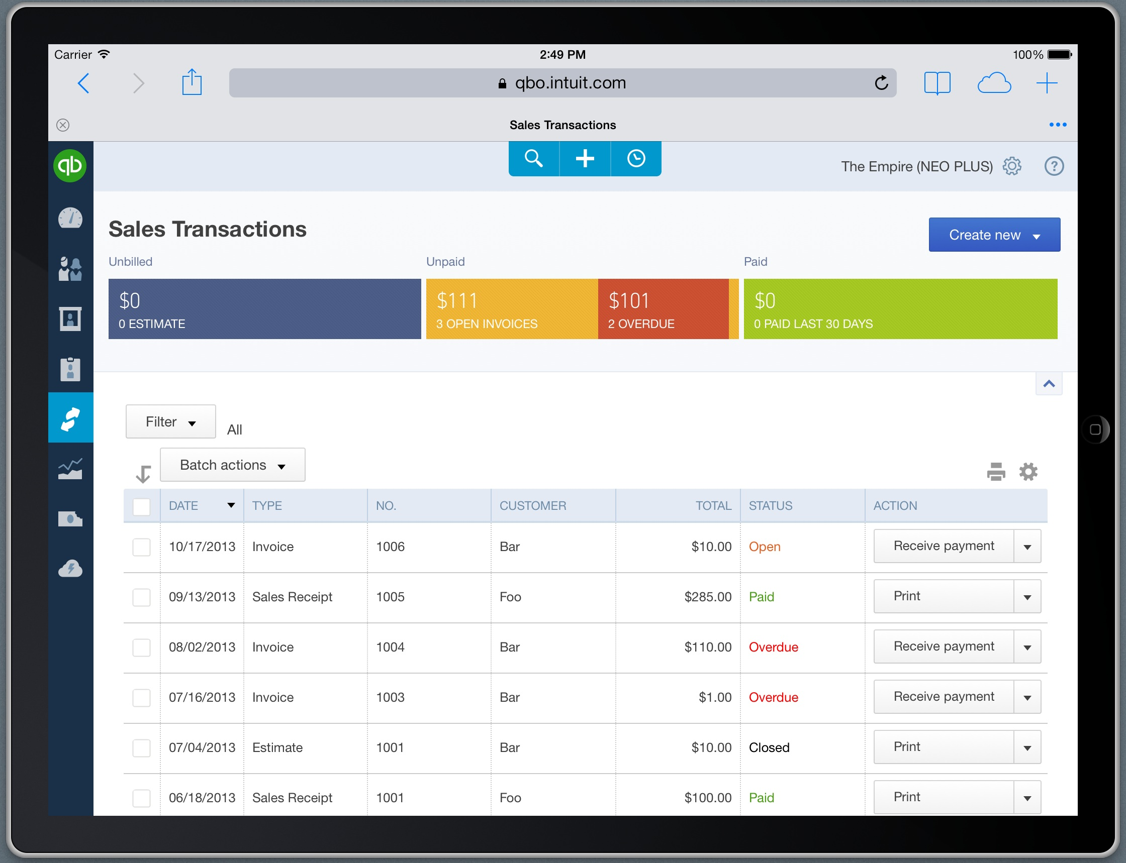 A Guided Tour of QuickBooks Online for Accountants