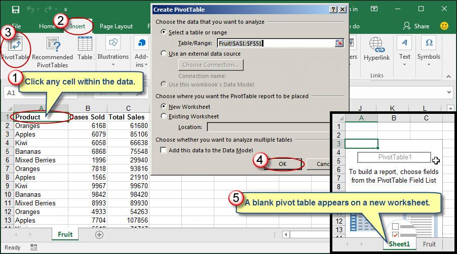 Automatically Formatting Numbers Within Excel Pivot Tables