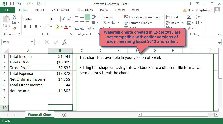 create an income statement in excel