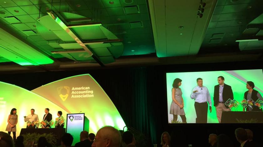 American Accounting Association meeting 2015