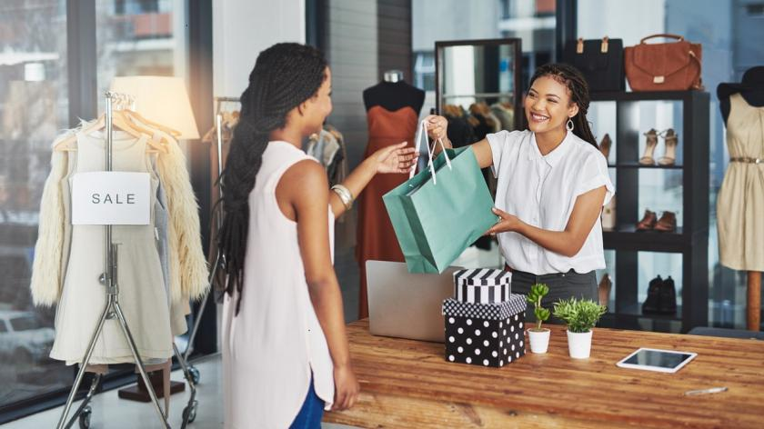 shopper and merchant exchange