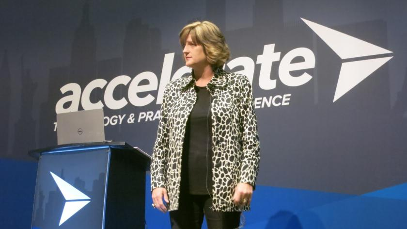 Geni Whitehouse at Accelerate 2017