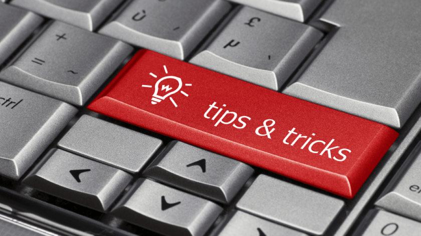 QuickBooks tips at your fingers