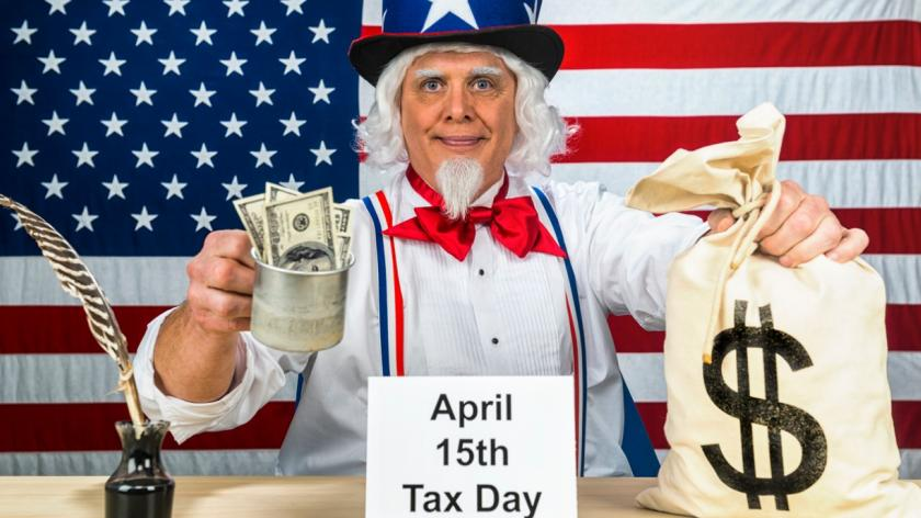 uncle sam tax collection