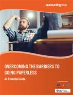 Overcoming The Barriers To Going Paperless Cover