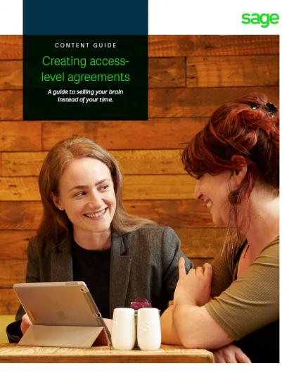 Creating access-level agreements