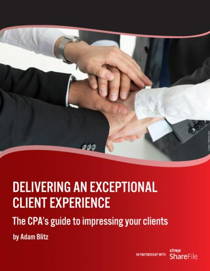 Delivering an exceptional client experience