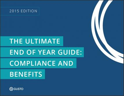 End of the year compliance and benefits guide