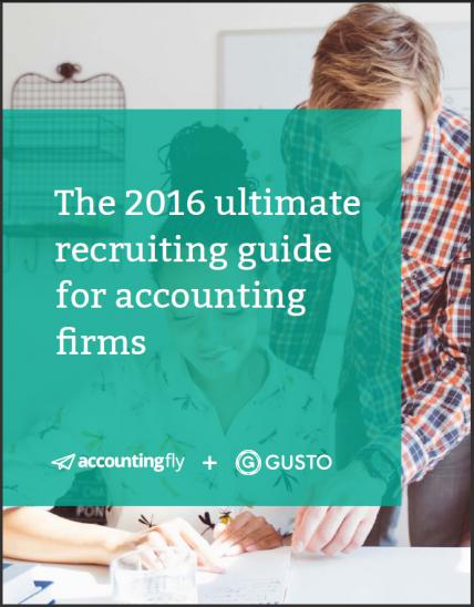 The 2016 Ultimatge Recruiting Guide For Accounting Firms