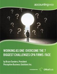 Seven Business Challenges Facing CPAs